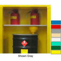 Securall® Extra Shelf for Full Size V1500 with Roller Bottom Yellow