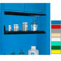 "Securall® Extra Shelf for Cabinets 56"" Wide Blue"