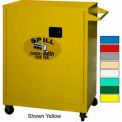 Securall® Mobile Counter High Flammable Spill Containment Cabinet Ag Green