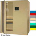 Securall® 36x24x42 Self-Latch Industrial Cabinet Md Green