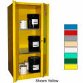 Securall® 60-Gallon, Manual Close, Haz Waste Safety Can Cabinet Ag Green