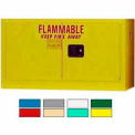 Securall® 18-Gallon Self-Close, Stackable Flammable Cabinet Yellow