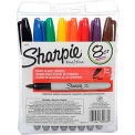 Sharpie® Pen Style Permanent Marker, Fine Point, Assorted Ink, 8/Set