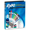 Sanford® Expo Dry Erase Marker / Eraser / Cleaner Kit / Assorted Ink / 12 / Set