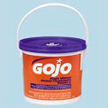 GOJO FAST WIPES Premoistened Hand Cleaning Towels, 225 per Bucket, 2/Carton - GOJ629902CT