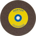 "Norton 07660788255 Gemini Bench and Pedestal Wheel 6"" x 1"" x 1"" 60 Grit Aluminum Oxide"