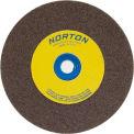 "Norton 07660788260 Gemini Bench and Pedestal Wheel 6"" x 1"" x 1"" 36 Grit Aluminum Oxide"