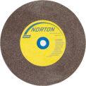 "Norton 07660788270 Gemini Bench and Pedestal Wheel 7"" x 1"" x 1"" 60 Grit Aluminum Oxide"