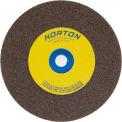 "Norton 07660788278 Gemini Bench and Pedestal Wheel 8"" x 3/4"" x 1"" 36 Grit Aluminum Oxide"