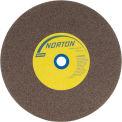 "Norton 07660788285 Gemini Bench and Pedestal Wheel 8"" x 1"" x 1"" 60 Grit Aluminum Oxide"