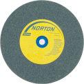 "Norton 66252837192 Gemini Bench and Pedestal Wheel 6"" x 3/4"" x 1"" 120 Grit Silicon Carbide"