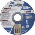 "Norton 66252842159 BlueFire Right Angle Cut-Off Wheel 4-1/2"" x 1/16"" x 7/8"" 36 Grit Alum. Oxide T1 - Pkg Qty 25"