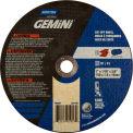 "Norton 66252905957 Gemini Circular Saw Cut-Off Wheel 7"" x .060"" x 5/8"" 36 Grit Aluminum Oxide Type 1 - Pkg Qty 25"