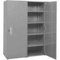 "Space Saver Cabinet-Double Unit-60""W x 75""H x 21""D-Sebring Grey"