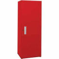"Space Saver Cabinet-Single Unit-30""W x 21""D x 75""H-Carmine Red"