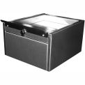 "Shuresafe Duo-Drawer w/Sliding Deal Tray, 10""H For 4-1/2"" Thick Wall, UL Bullet Resistant Faceplate"