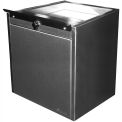 "Shuresafe Duo-Drawer w/Sliding Deal Tray, 20-1/2""H For 8"" Thick Wall, UL Bullet Resistant Faceplate"