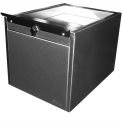 "Shuresafe Duo-Drawer w/Sliding Deal Tray, 15""H For 4-1/2"" Thick Wall, UL Bullet Resistant Faceplate"