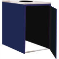 "Single Recycle Cabinet - 30""W x 27-3/4""D x 39-15/32""H (St. Louis Blue)"