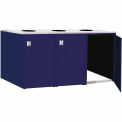 "Triple Recycle Cabinet - 90""W x 27-3/4""D x 39-15/32""H (St. Louis Blue)"