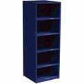 "SPS 5 Shelf Cabinet-29 1/4""W x 27 3/4""D x 75""H-St. Louis Blue"