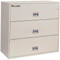 "3 Drawer Insulated Lateral File Cabinet - 43""W Sand, Legal"