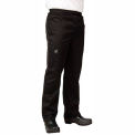 Basic Chef'S Pants, 2X, Black