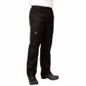 Basic Chef'S Pants, 2X, Black