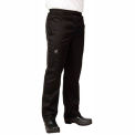 Basic Chef'S Pants, 3X, Black