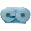 "San Jamar® Oceans® Twin 9"" JBT Dispenser - Black - R4090TBK"