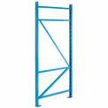 "SK3000® Structural Channel Pallet Rack - 48""D X 144""H Upright"