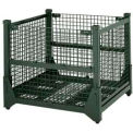 Hold 'N Fold® Collapsible Containers, Wire Mesh, 4000 Lbs. Capacity
