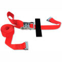 "Snap-Loc® SLTE216RRI E-Strap 2""X16' Ratchet Red (Import) With Hook & Loop Storage Fastener"