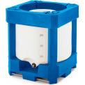 "Bonar Plastics SiniTainer IBC Container 360 Gallon - Stackable 46""L x 46""W x 70""H"