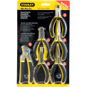Stanley 84-079 6 Piece Basic Miniature Plier Set (Long Nose, Diagonal, Tongue & Groove, End Cutter)