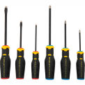 Stanley®  Fatmax® FMHT62052 6 Piece Diamond Tip Screwdriver Set