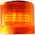Springer Controls / Texelco LA-43-KB 70mm Stack Light, BiFunction (S,F), 24V AC/DC LED - Amber