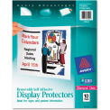 """Avery® Removable Self Adhesive Display Protector, 8-1/2""""W x 11""""H, Clear, 10/PK"""