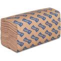"Genuine Joe Single-fold Paper Towel, 10-1/4"" X 9-1/10"",  250 Sheets/Roll, 16/PK, Natural - GJO21020"