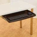 """Kensington® Underdesk Keyboard Drawer, 60004, W/Mouse Tray, 26"""" X 13-1/2"""", Black"""