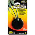 "Master® CordAway® 00201 Adjustable Grommet, 2"" Diameter, Black, Pack of 1"