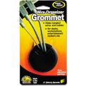 "Master® CordAway® 00201 Adjustable Grommet, 2"" Diameter, Black, Pack of 1"