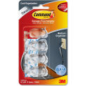 3M™ 17301CLRES Command™ Clear Medium Cord Clips, Pack of 4
