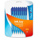 Paper Mate® Ballpoint Pen, Blue Ink, Transparent/Tinted Barrel, 8/Pack