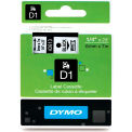"DYMO® D1 Standard Labels 1/4"" Black on White"