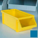 "Plastic Stackbin With Front Bar 5-1/2""W x 12""D x 4-1/2""H - Blue"