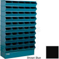 "50 Compartment Sectional Unit, 37""W x 13""D x 60""H - Black"