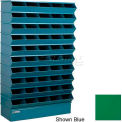 "50 Compartment Sectional Unit, 37""W x 13""D x 60""H - Green"