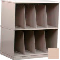 Stackbin® Two-Shelf X-Ray Storage Cabinet, Beige