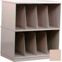 Stackbin® Two-Shelf X-Ray Storage Cabinet, Beige